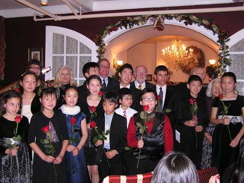 2012 Holiday Concert winners